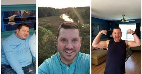 Mit 36 Jahren liebte er Fleisch und Käse und war krank – dann wechselte er zu einer veganen Ernährung, verlor 100 Pfund und wurde gesund
