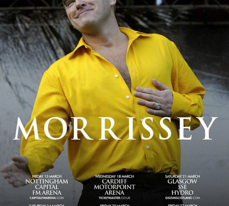 Morrissey verweigert Auftritt, weil Veranstalter Fleisch servieren möchte – Danke Morrissey! Wunderbar!