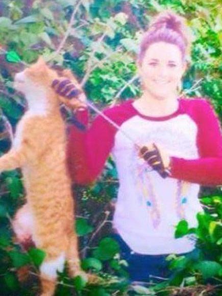 Tierärztin schiesst Katze Pfeil in den Kopf und die Menschen empören sich zu Recht!