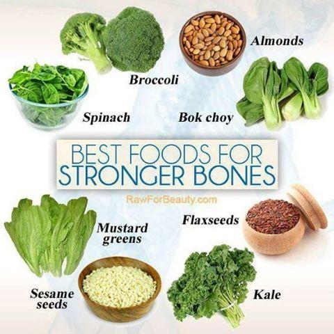 Die besten Nahrungsmittel für starke Knochen