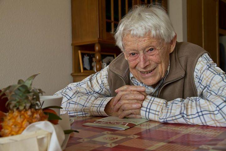 Mit 102,5 Jahren ist der Veganer Werner Hofstetter verstorben