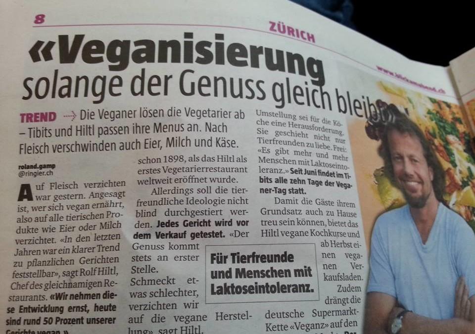 """""""Die Veganer lösen die Vegetarier ab"""""""