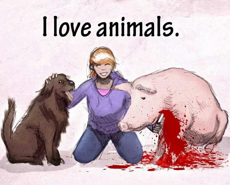 Wenn es um Tiere geht, hat die Schizophrenie Hochkonjunktur