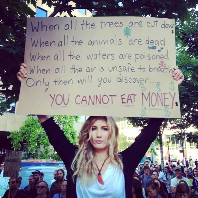 Können Sie Geld essen?