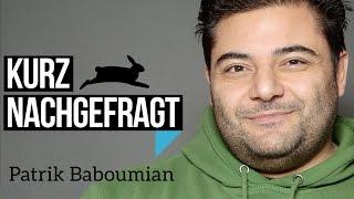 Wie erhält der stärkste Mann Deutschlands (Veganer Patrik Baboumian) seine Proteine? – Die Antwort im Video