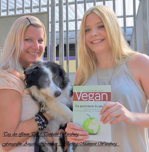 Der Veganismus ist nicht mehr aufzuhalten – Vegane Promotion im Tierheim Würzburg