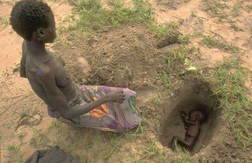 Was der Hungertod der Kinder mit IHRER Ernährung zu tun hat