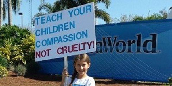 """""""Lehre Deinen Kindern Mitgefühl, aber nicht Grausamkeit!"""""""
