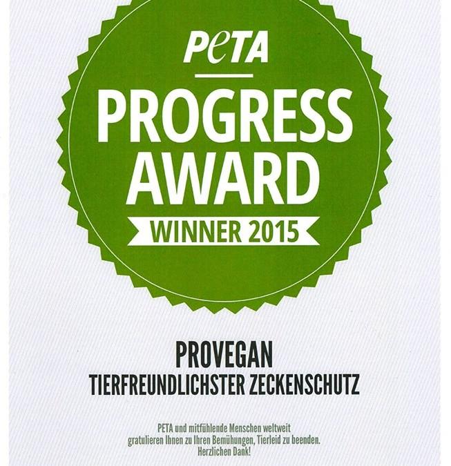 Progress Award für den tierfreundlichsten Zeckenschutz
