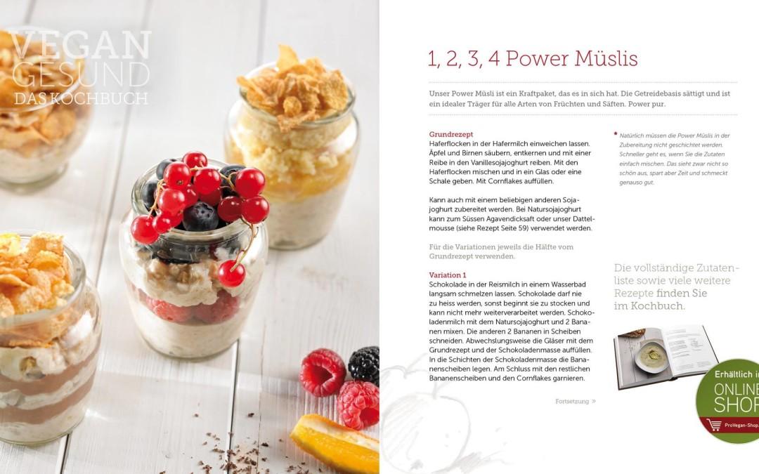Veganes Power Müsli – guten Appetit!