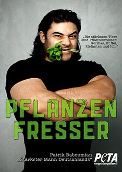 Der stärkste Mann Deutschlands ist Veganer