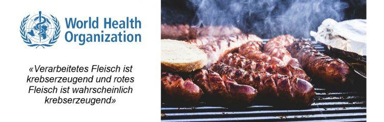 Swissveg fragt: Sind die Autoren der WHO-Veröffentlichung zum Fleischkonsum etwa alle überzeugte Fleischgegner?