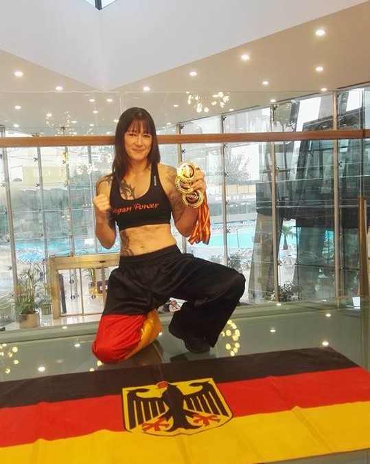 Vegan Power oder wie werde ich Weltmeister – Claudia Grammelspacher