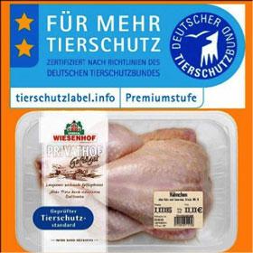 """Neues """"Qualitätssiegel"""" für Fleisch vom Deutschen """"Tierschutz""""bund"""