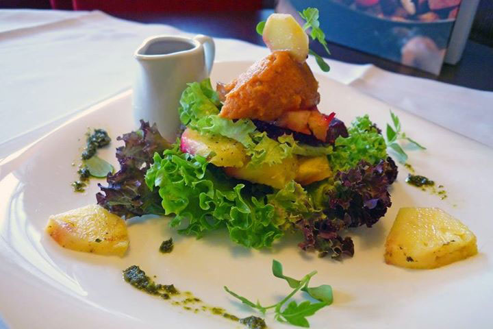 Gaumenfreuden im veganen Hotel Swiss am Bodensee