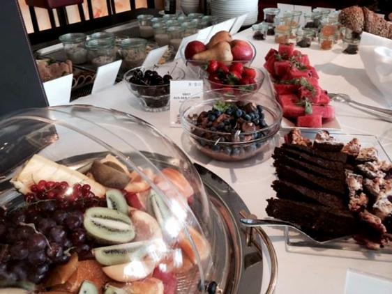 Leckere Impressionen aus dem 100 % veganen Hotel Swiss am Bodensee
