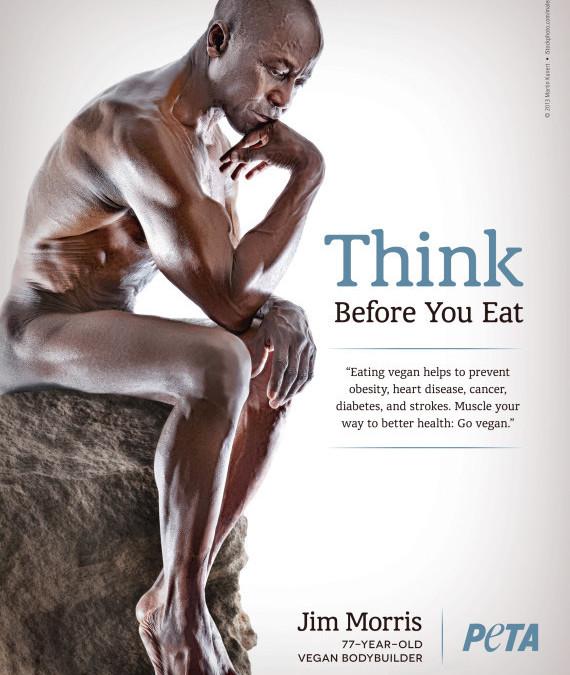 78 Jahre, Bodybuilder und vegan – Jim Morris
