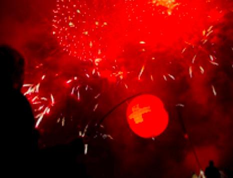 Knallerei ohne Rücksicht auf Verluste den ganzen Tag und Nacht lang – am 1. August, dem Nationalfeiertag in der Schweiz