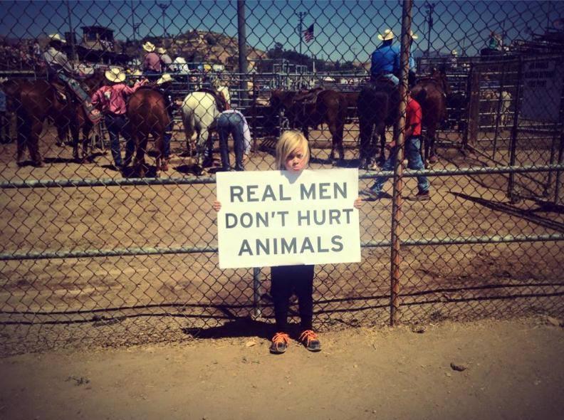 Echte Männer quälen keine Tiere