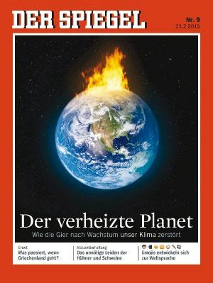 Titelstory im neuen SPIEGEL zum Thema Klimawandel