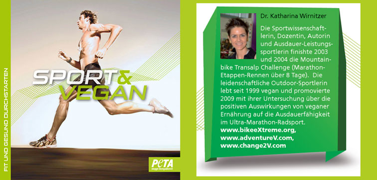 Sport & Vegan Broschüre