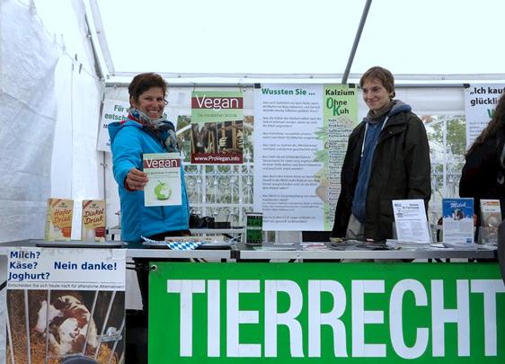 Hervorragende Aktion der Tierrechtsinitiative Augsburg
