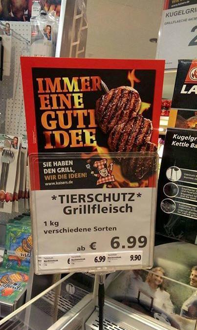 *Tierschutz* Grillfleisch