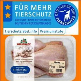 """Die Spitze der Dreistigkeit: Das """"Qualitätssiegel"""" für Fleisch vom Deutschen """"Tierschutz""""bund"""