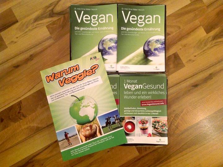 Lasst uns die Welt veganisieren!