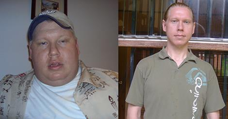 Glückwunsch: Vom adipösen Schwergewicht zum schlanken Gesundheitslehrer durch vegane Ernährung
