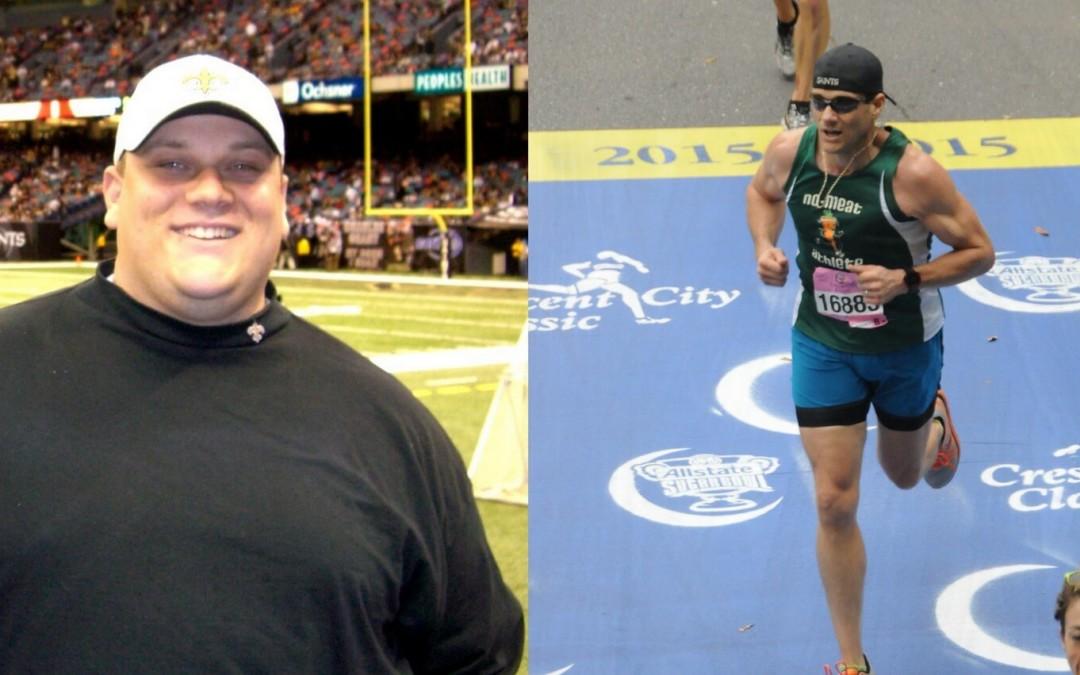 Josh Lajaunie nahm durch eine vegane Ernährung 220 Pfund ab, wurde zu einem Ultra-Marathon-Läufer und änderte sein Leben vollständig