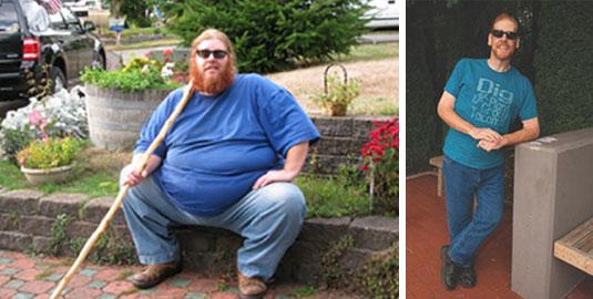 Fast 300 Pfund verloren durch vegane Ernährung!